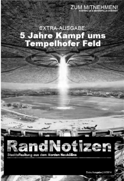 Randnotizen Extra-Ausgabe