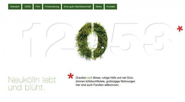 screenshot der 12053-website